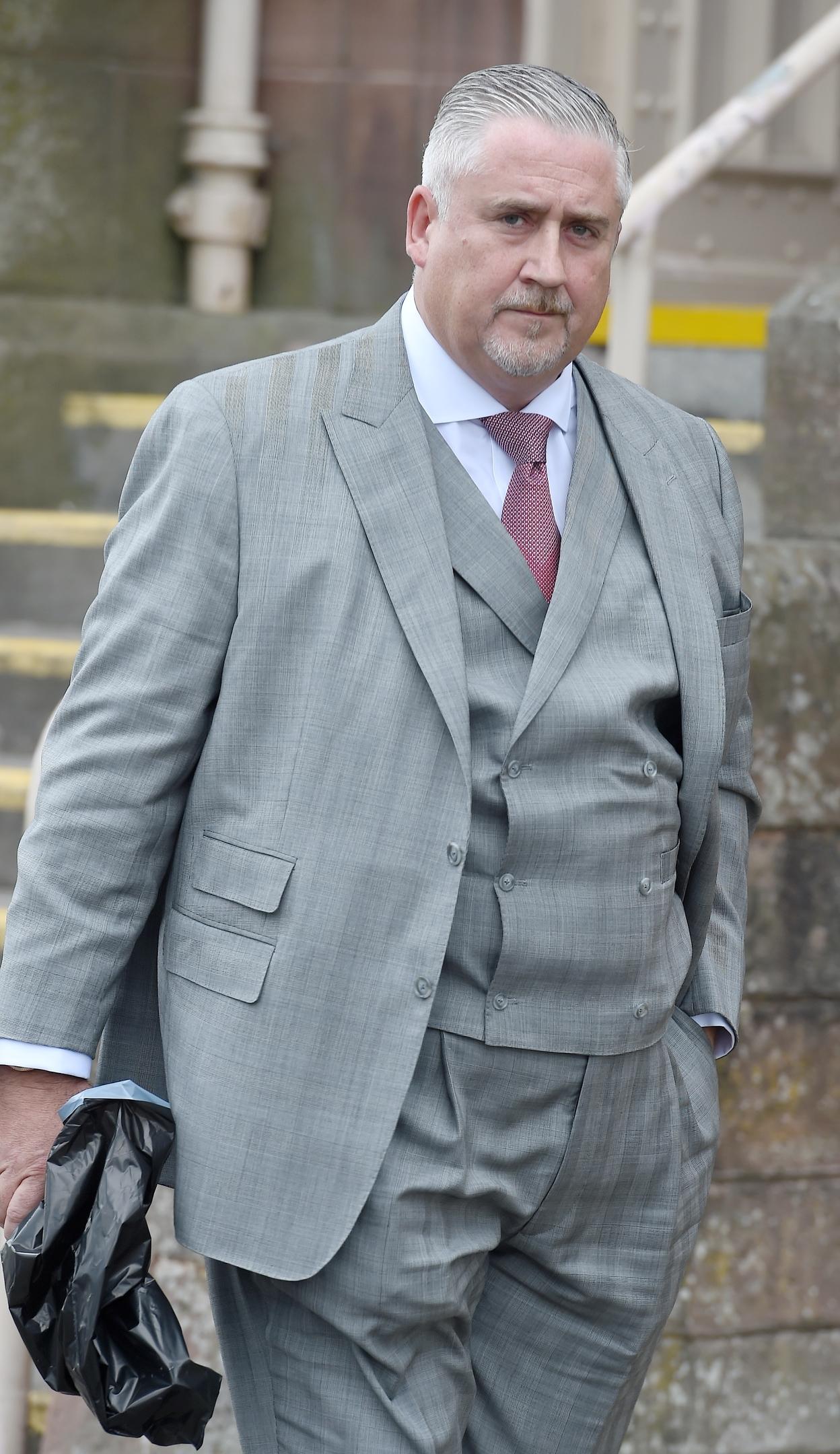 Alleged victim Paul Curran