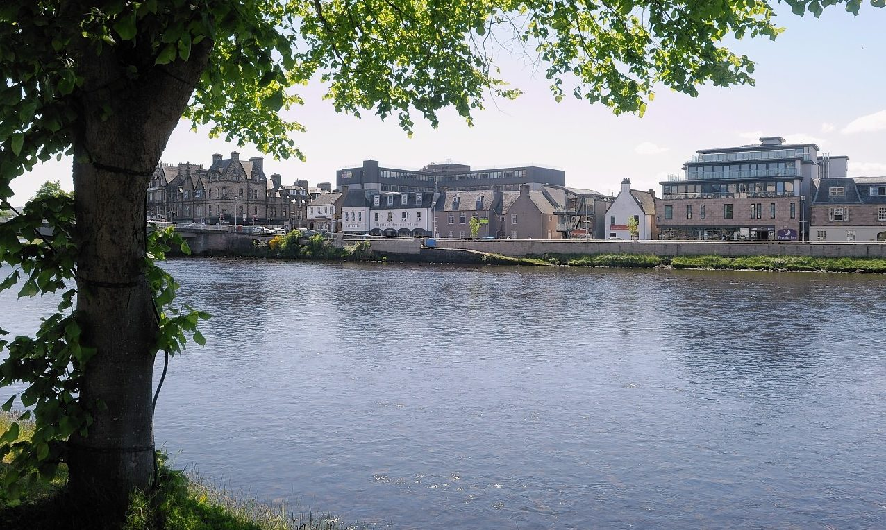River Ness in Inverness.