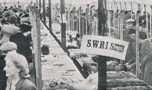 The SWRI tent at the 1948 Turriff Show