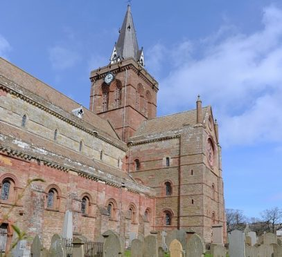 St Magnus Cathedral.