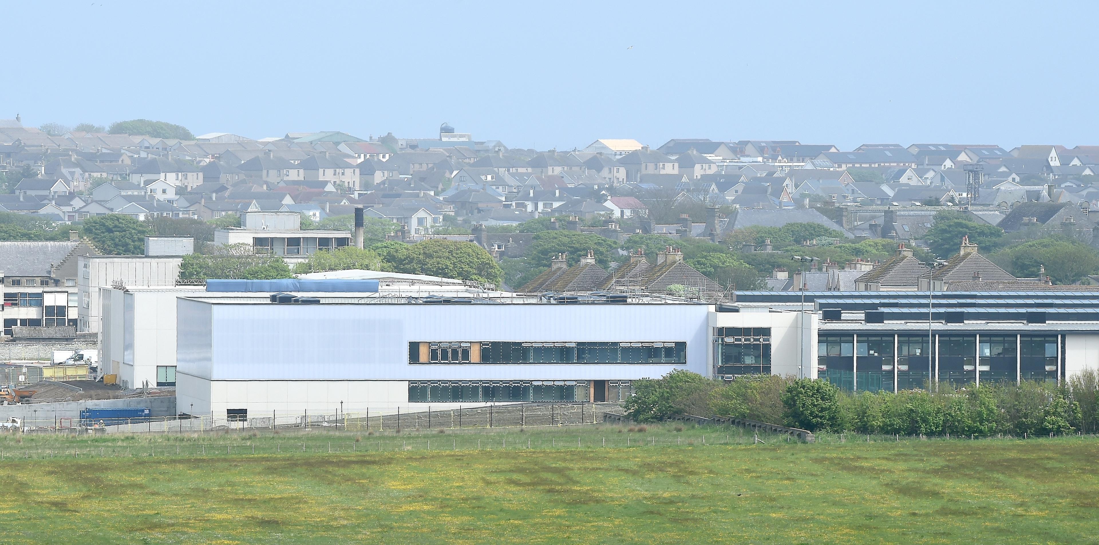 The new Wick High School