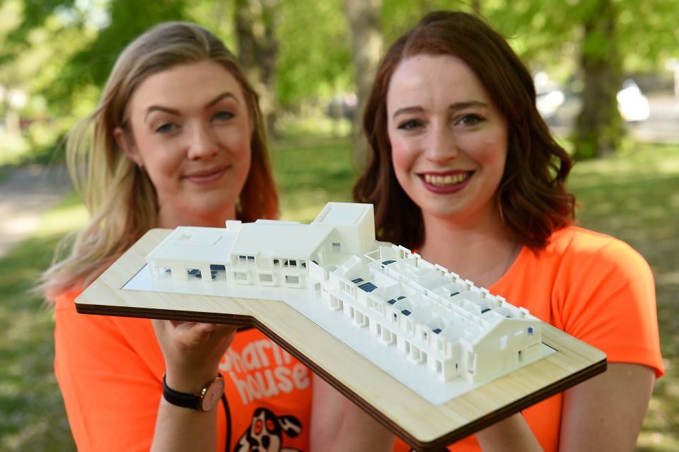 The children's charity Charlie House plan to create a children's hospice in the north-east. Pictured are Charlie House staff members Elin Styrbjorn, left, and Dr Sorcha Hume, right.