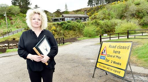 Clatterin' Brig restaurant owner Linda Smith is angered by the lack of informative signage