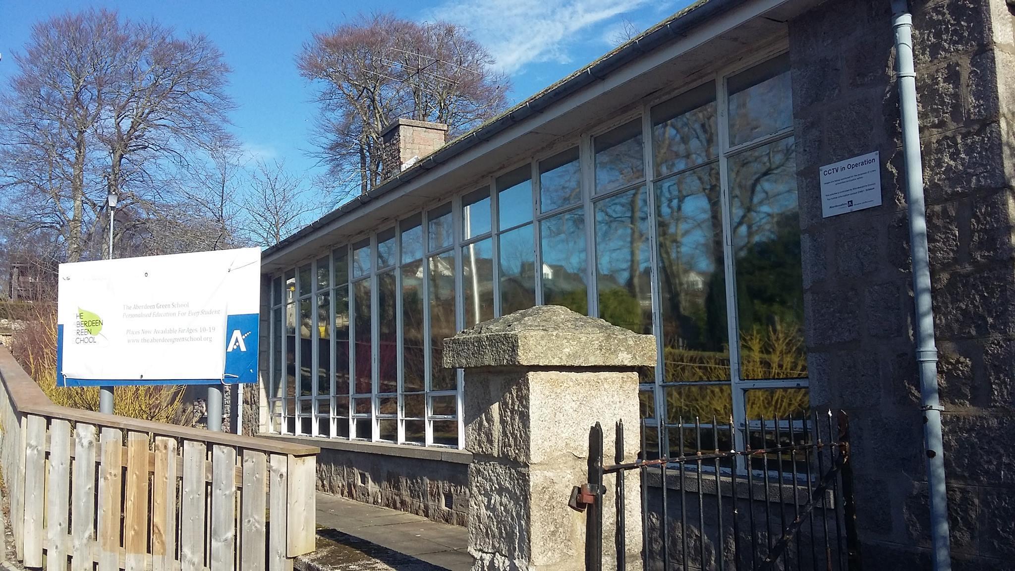 The Aberdeen Green School has taken over the old Drumoak Primary school building