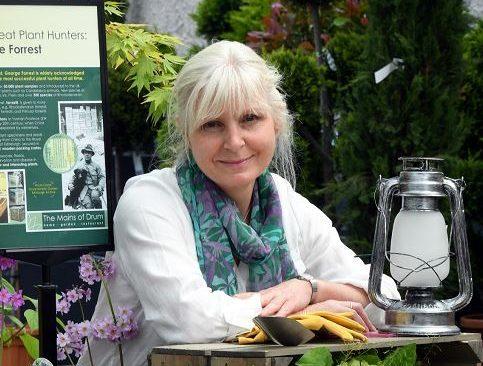 Ruth Howell will showcase her garden design at the Gardening Scotland festival in Ingliston.