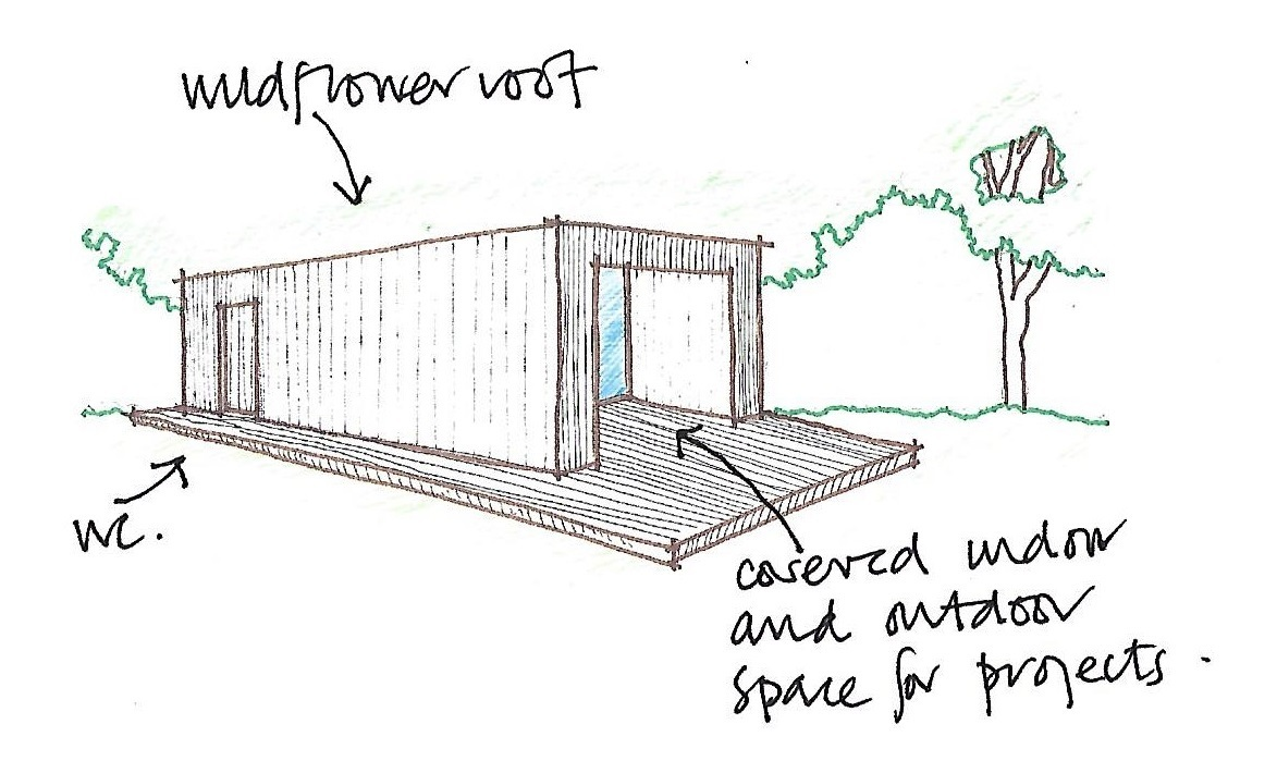 How the bothy might look.