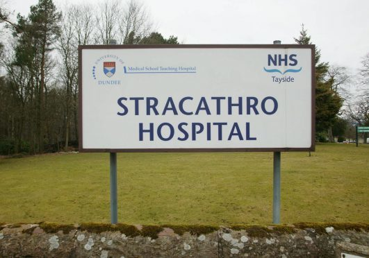 Stracathro Hospital has been told to improve by inspectors.