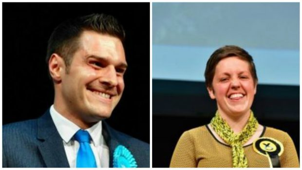 Ross Thomson took the Aberdeen South seat while Kirsty Blackman returned as Aberdeen North MP