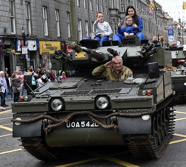 Aberdeen Armed Forces Day