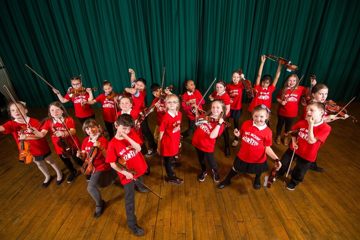 Torry kids get in the groove