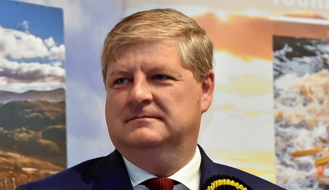Former Moray MP Angus Robertson