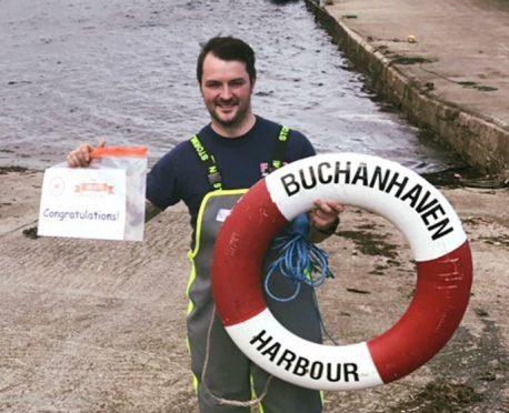 Arthur McKenzie, chairman of the harbour