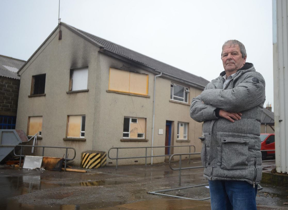 Buckie councillor Gordon Cowie wants the arrests to serve as a warning to other youngsters.