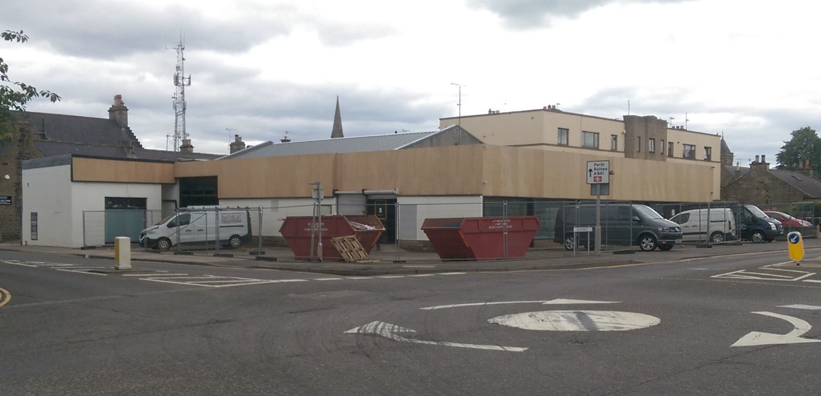 The former Comet store has been empty since 2012.