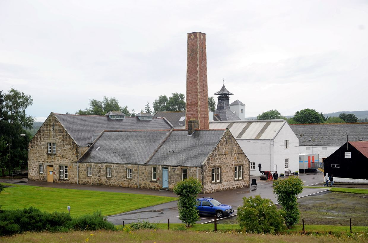 Dallas Dhu Distillery was built at the beginning of the 20th Century.