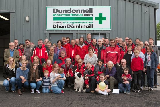 Dundonnell MRT at their new base in Dingwall