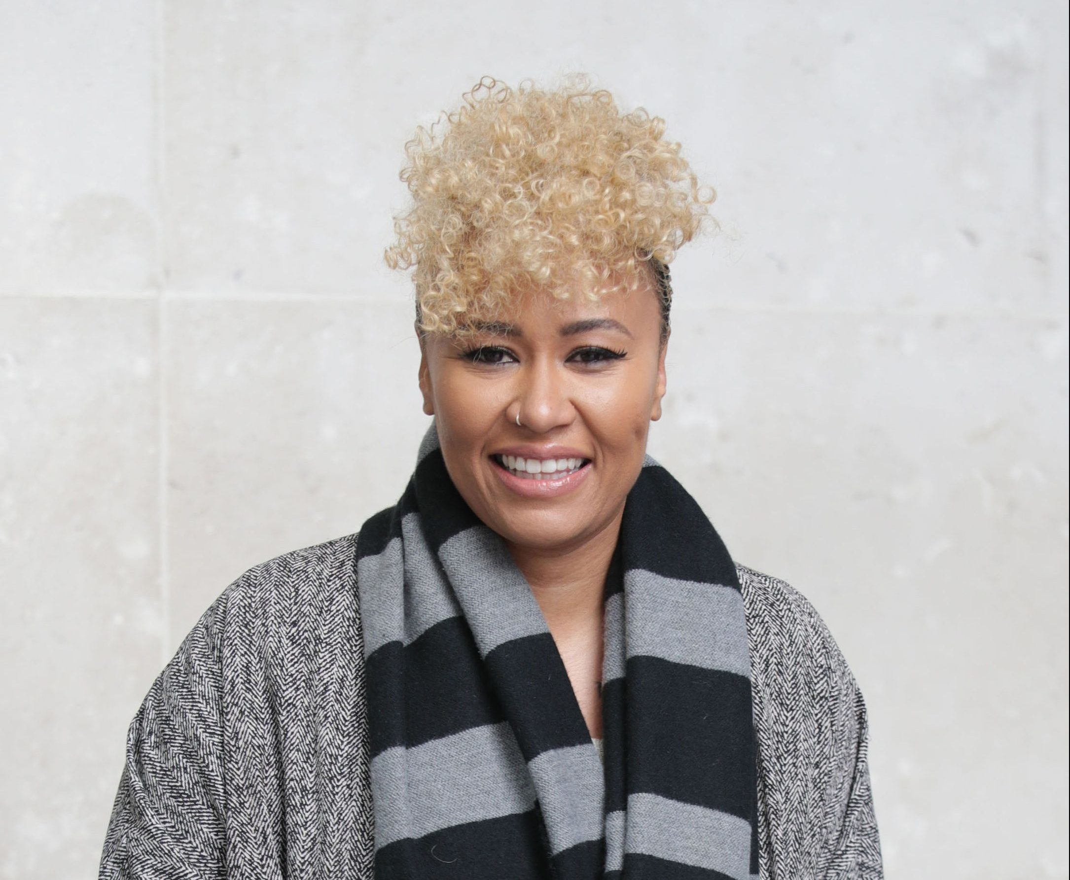 Singer Emeli Sande, who has been awarded an MBE in the Queen's Birthday Honours List.