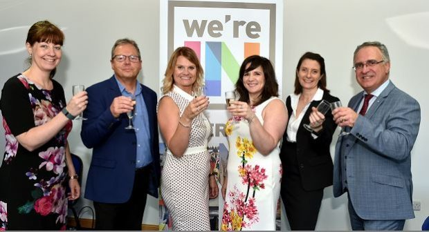 Members of the Inverurie BID group, who are pioneering the Pride of Inverurie Awards
