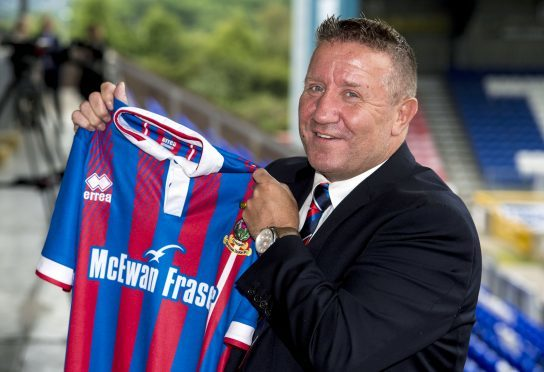 John Robertson takes charge of his 100th Inverness game at Livingston.