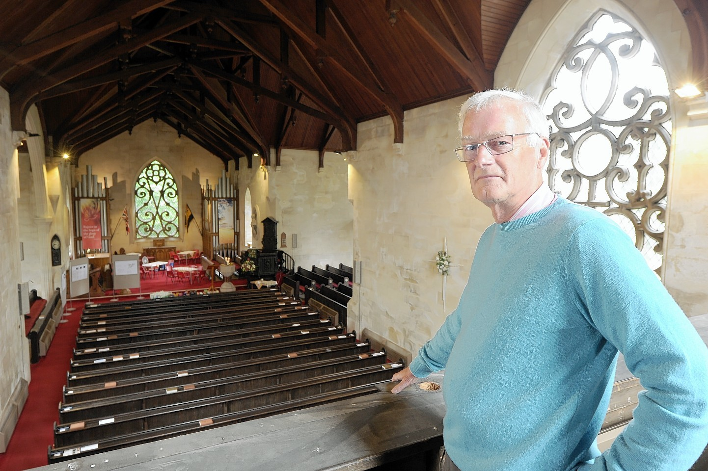 John Wilson, convener of the church's development committee.