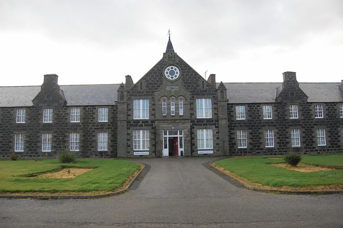 The former Maud Hospital.
