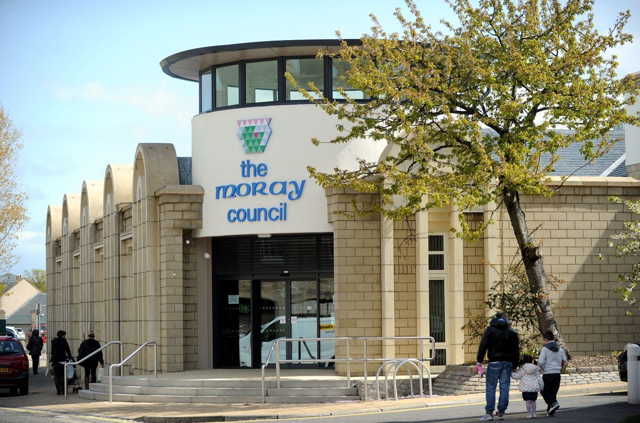 Moray Council's annexe in Elgin.