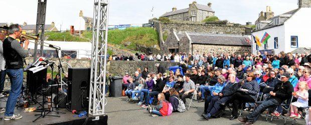 The Portsoy Boat Festival.