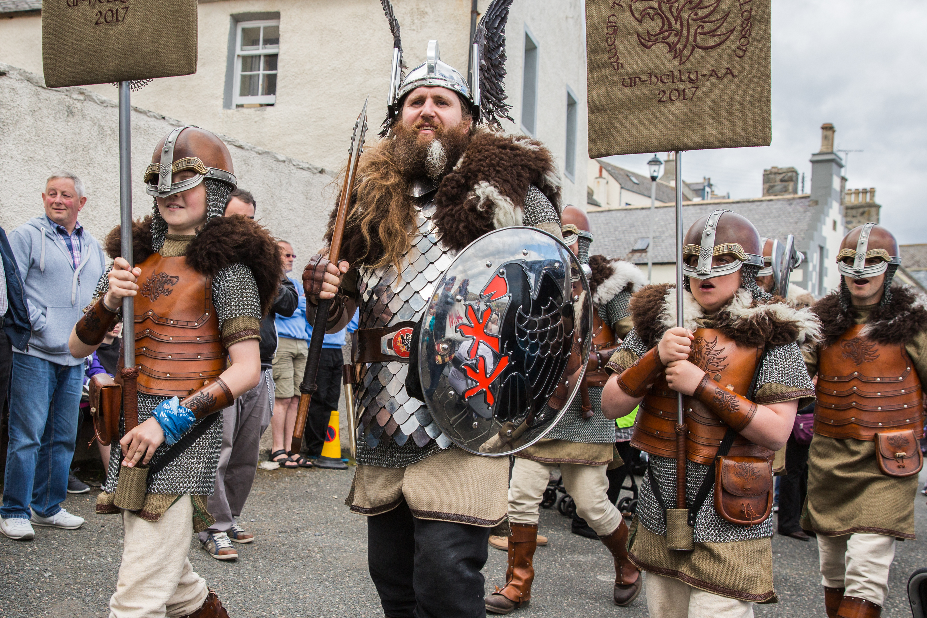 Vikings have previously visited the festival.