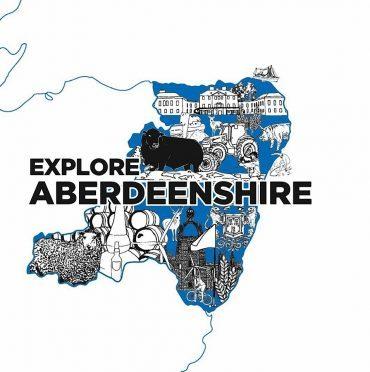 The Explore Aberdeenshire logo