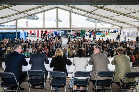 The Oxford Farming Conference debate at the Highland Show