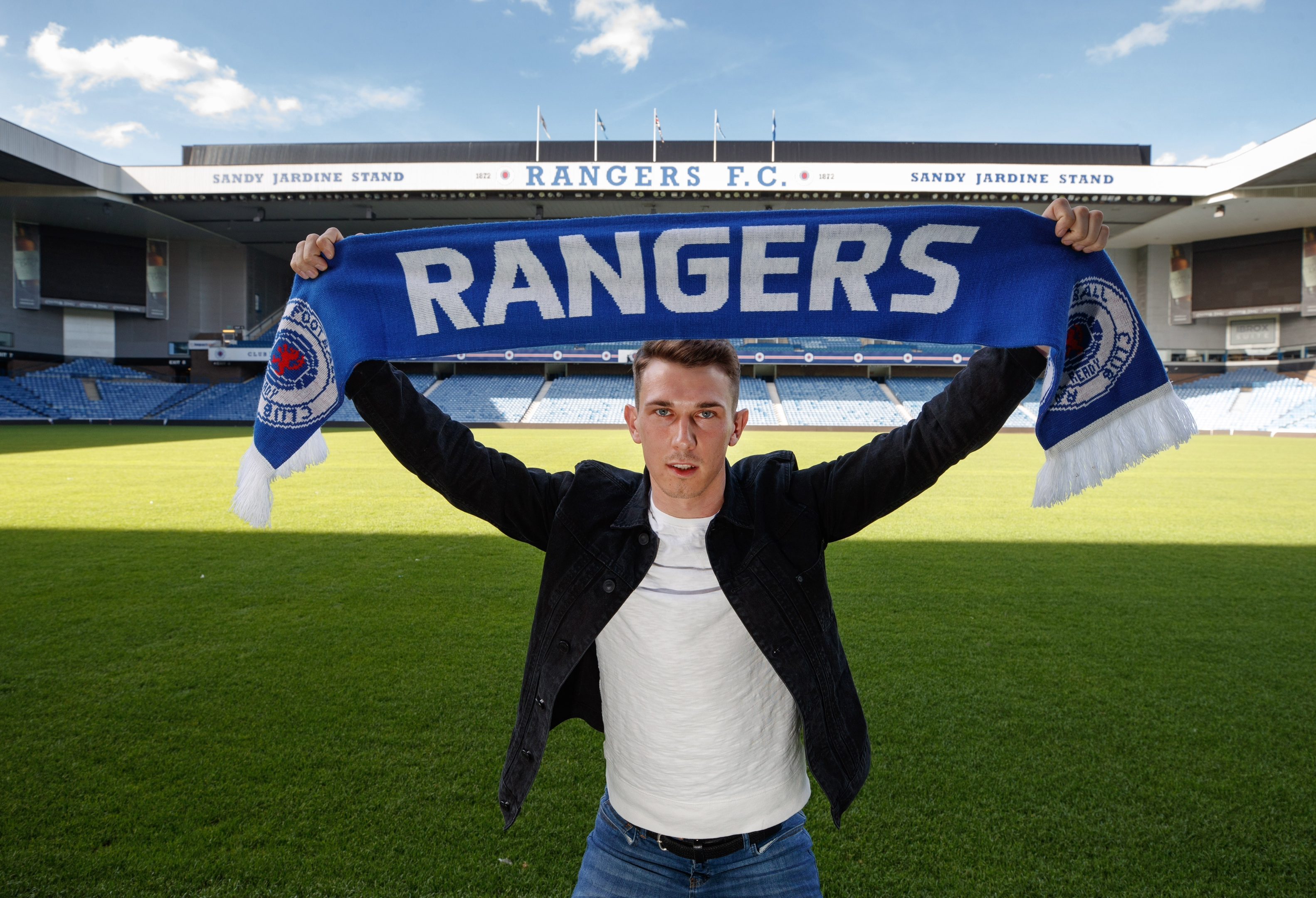 Midfielder Ryan Jack moved to Rangers in the summer.