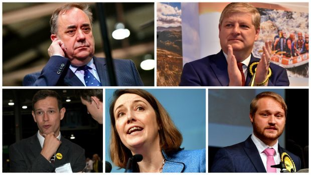The defeated SNP candidates