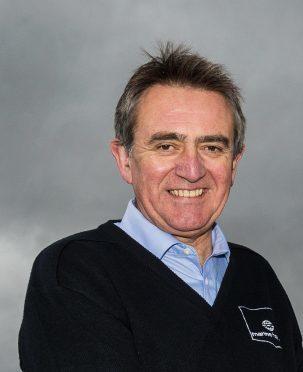 Steve Bracken of Marine Harvest Scotland.