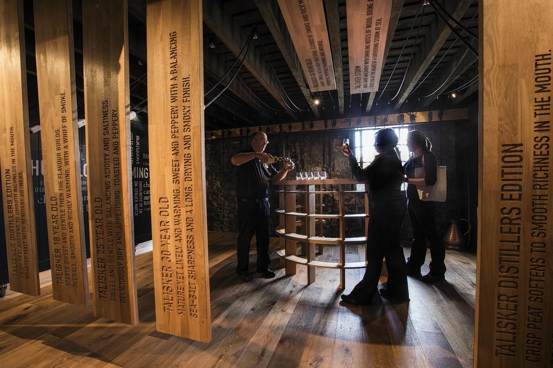 Talisker Distillery on Skye.