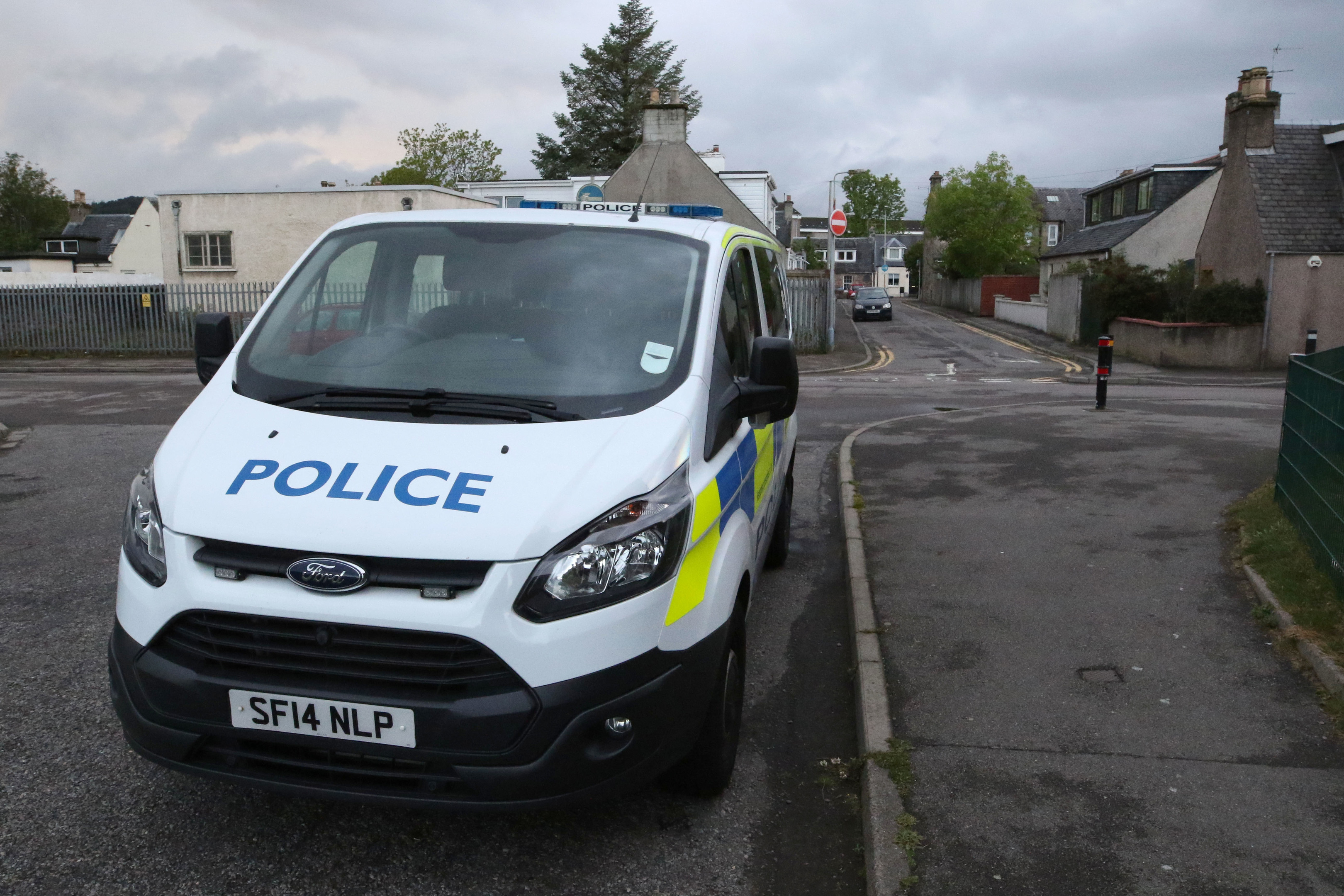 Police on Telford Avenue, Inverness