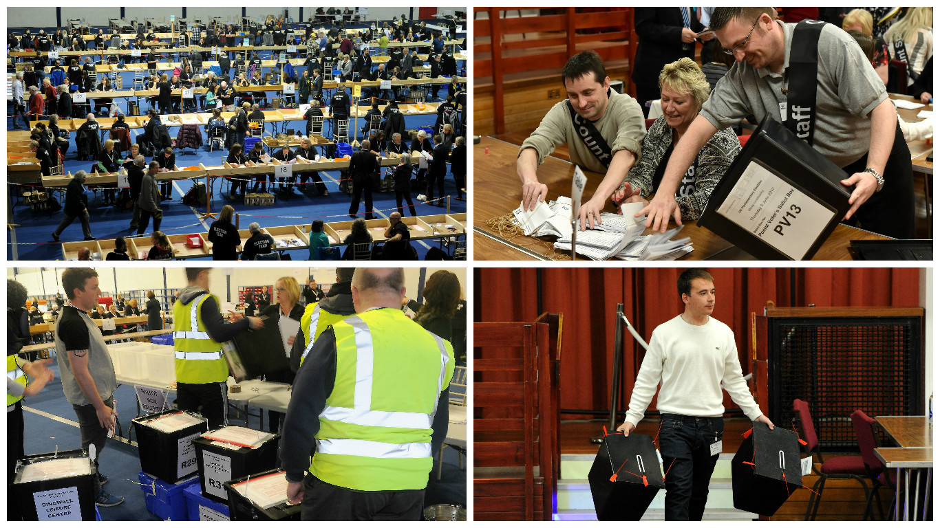 Counting gets underway in Scotland