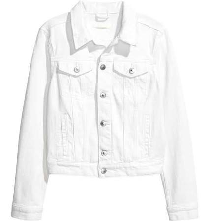 White Denim Jacket HNM £29.99