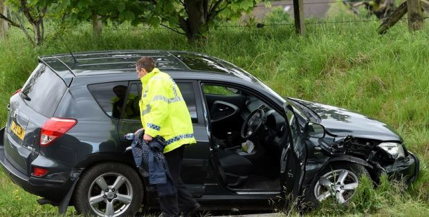 A man died in a crash on the A90 near Laurencekirk.