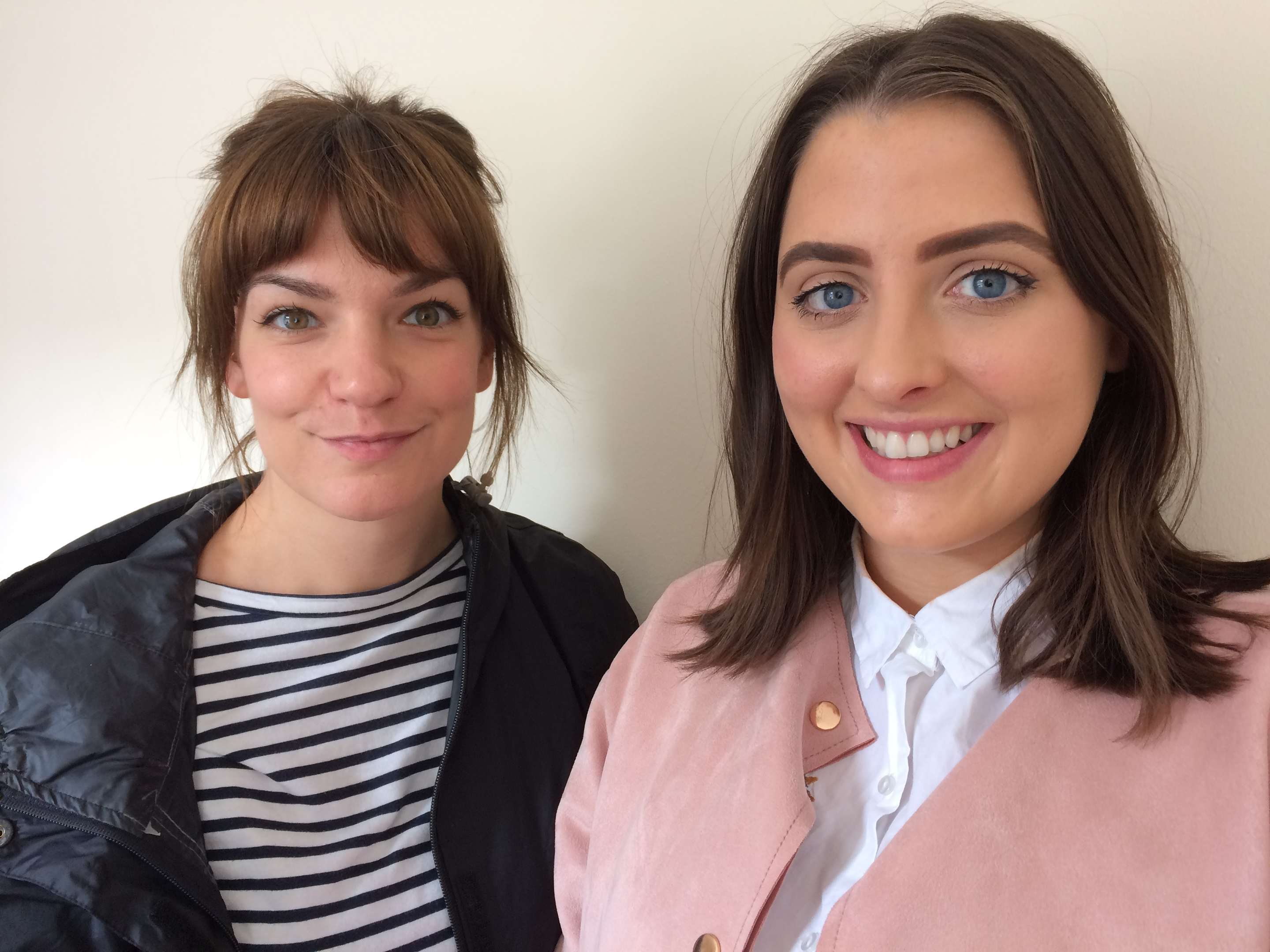 Charlotte Armstrong, producer, left, and Rebecca Cray, researcher, of Love Productions