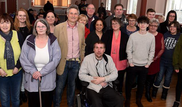 Members of Pillar Kincardine who attended the public meeting in Stonehaven.