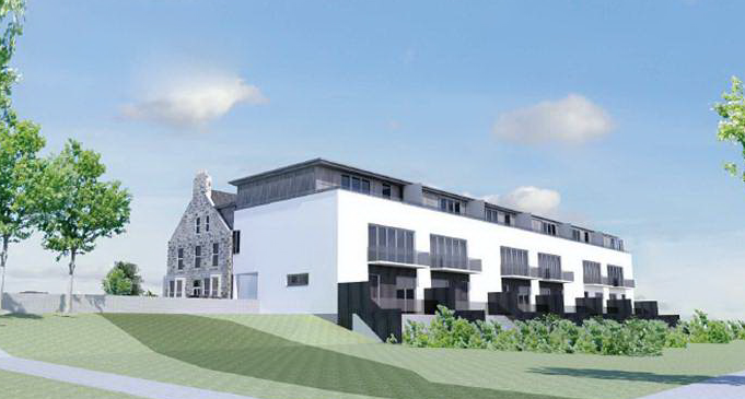 How the new townnhouse development at the Udny arms Hotel in Newburgh could look