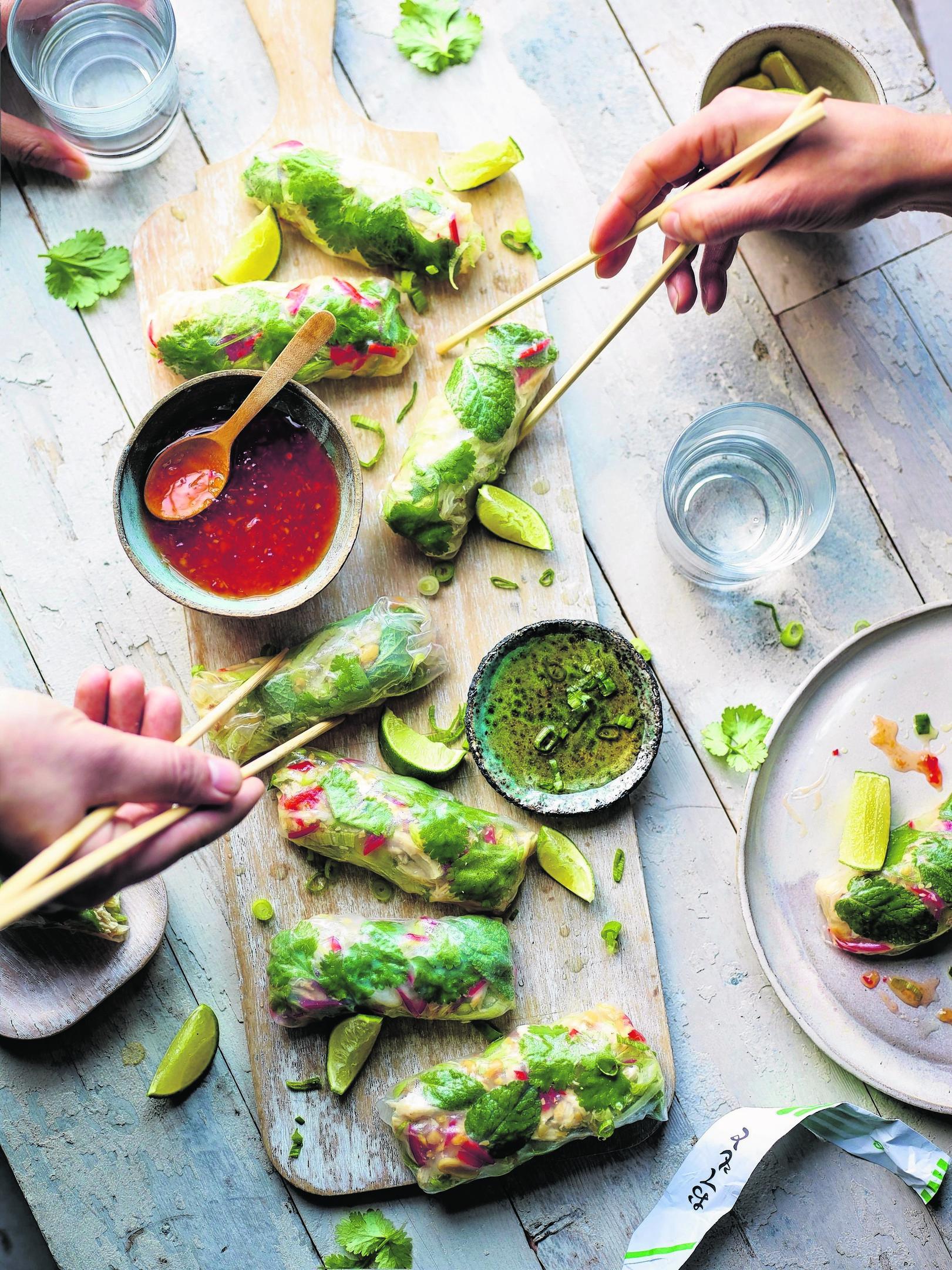 FOOD Recipe Wicks Summer Rolls 113562