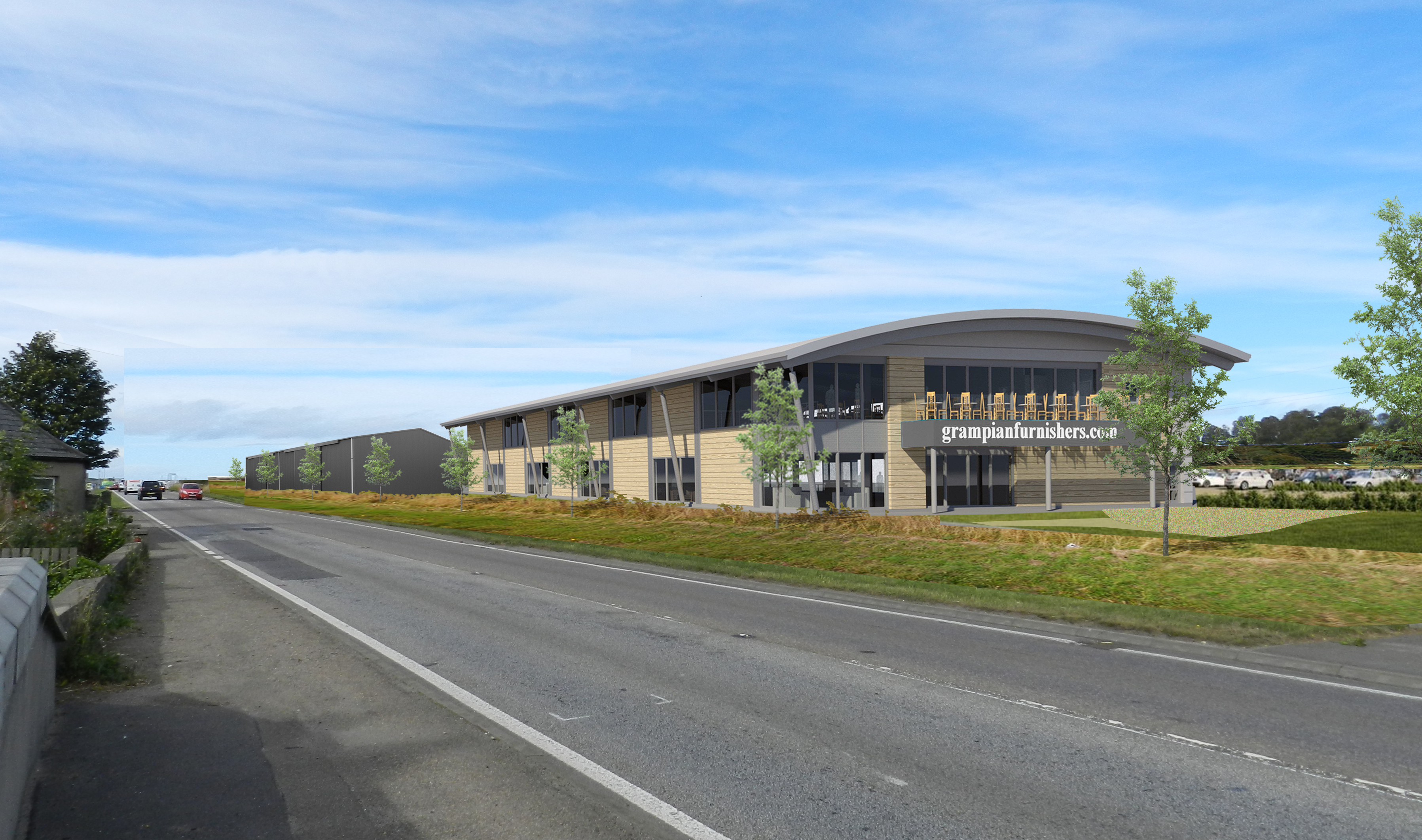 The new showroom could create up to 50 new jobs.