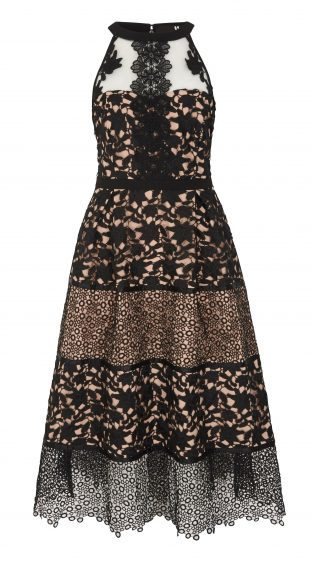 V by Very Premium Guipere Lace Dress, currently reduced to £60 from £120 (www.very.co.uk)