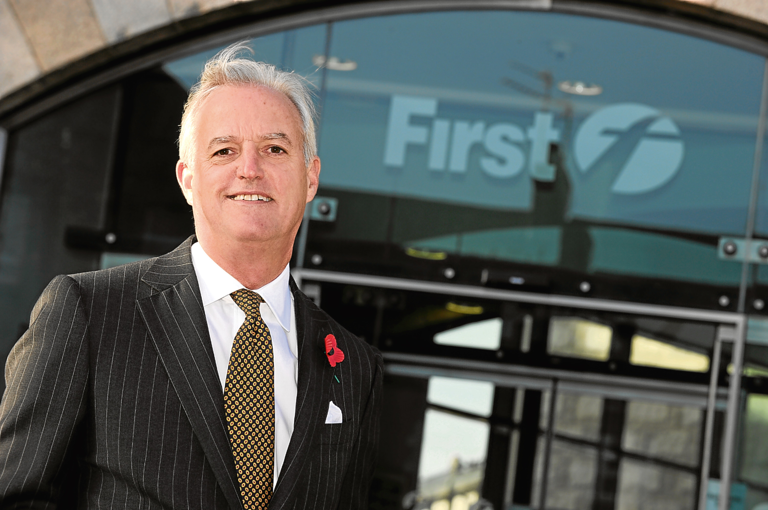 FirstGroup new Chief Executive Tim OToole, first day at work.    Picture by KENNY ELRICK       01/11/2010   .