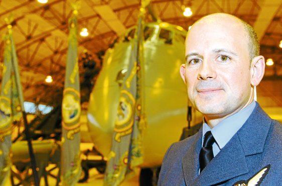 Retired Group Captain Robert Noel