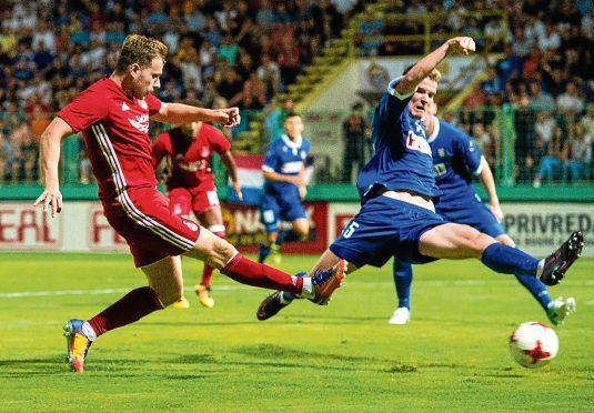 Greg Stewart in action