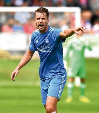 Kari Arnason is among the players leaving Aberdeen