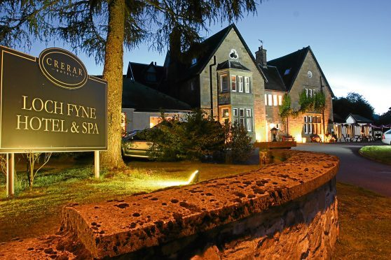 Loch Fyne Hotel and Spa    (submitted pic)