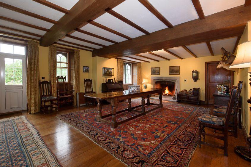 Interior of Bofracks House